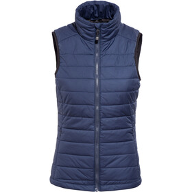 axant Alps Quilt Vest Dames, dark blue